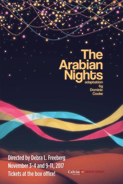Arabian Nights - Graphic Design Poster - Calvin College