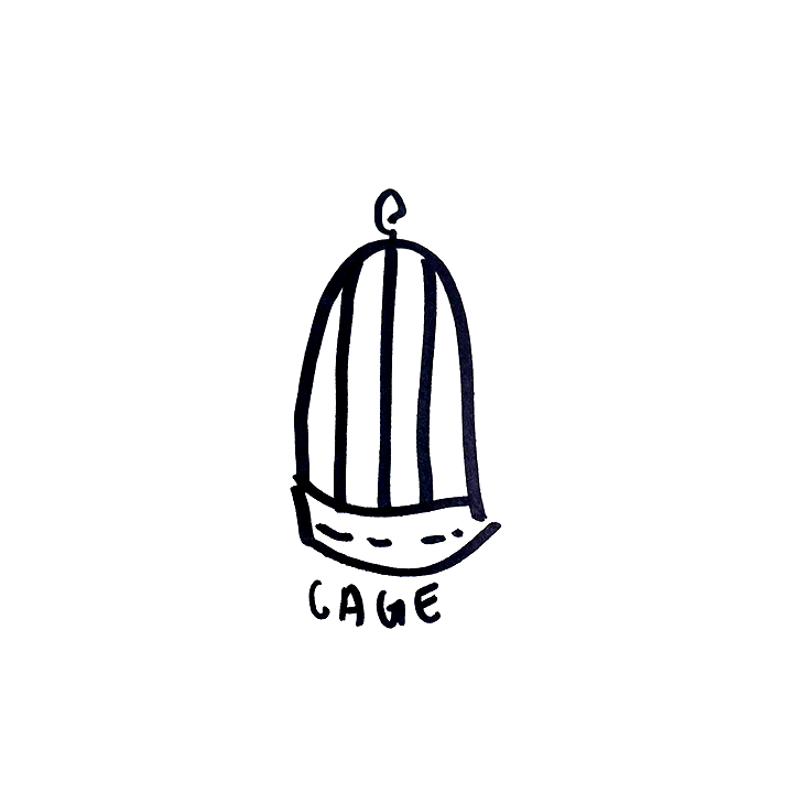 image of a cage